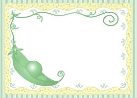 Free Printable Pea In A Pod Invitation