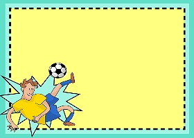 Free Printable Soccer Splash Card And Invitation