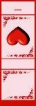 <h3>3D Hearts Mintbook </b></h3>