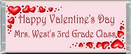 <h3>3D Hearts Sample Candy Wrapper</h3>