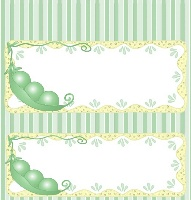 <h3>3 Peas In A Pod Candy Wrapper </h3>