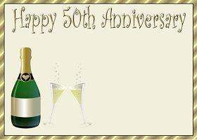 <h3>50th Anniversary Invitation </h3>