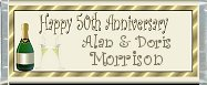 <h3>50th Anniversary Sample Candy Wrapper</h3>