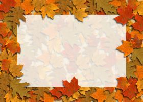 Free Printable Autumn Leaves Card And Invitation