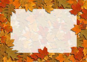 <h3>Autumn Leaves Invitation </h3>