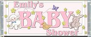 Free Printable Baby Animals (girl) Candy Bar Wrapper
