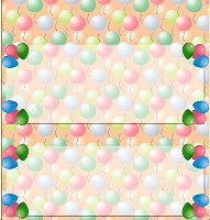 <h3>Balloon Pearls Candy Wrapper </h3>