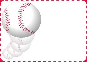 <h3>Baseball Invitation </h3>