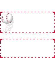 <h3>Baseball Candy Wrapper </h3>