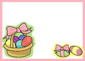 Free Printable Easter Basket 2 Invitation
