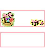 <h3>Easter Basket 2 Candy Wrapper </h3>