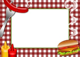 <h3>Cook Out - BBQ - Picnic Invitation </h3>