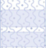 <h3>Blue Curves Candy Wrapper </h3>