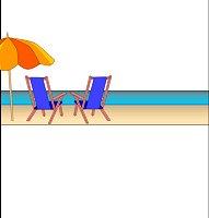 <h3>Beach Chairs Candy Wrapper </h3>