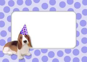Free Printable Party Dog Invitation