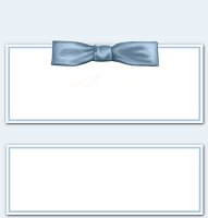 <h3>Blue Bow Candy Wrapper </h3>