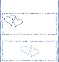 <h3>Blue Hearts Candy Wrapper </h3>