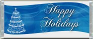 <h3>Blue Christmas Sample Candy Wrapper</h3>