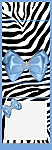 <h3>Blue Zebra Mintbook </b></h3>