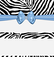 <h3>Blue Zebra Candy Wrapper </h3>