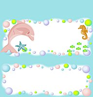 <h3>Under The Sea Candy Wrapper </h3>