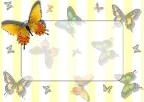 Free Printable Butterflies Card and Invitation