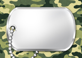 Free Printable Military Camo Card And Invitation