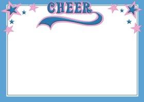 <h3>Cheerleading Invitation </h3>