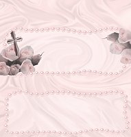 <h3>Christening (girl) Candy Wrapper </h3>