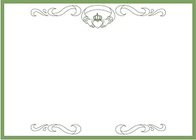 Free Printable Claddagh Card And Invitation