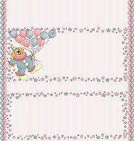 <h3>Clown Candy Wrapper </h3>