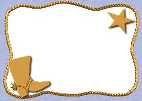<h3>Denim Cowboy Invitation </h3>
