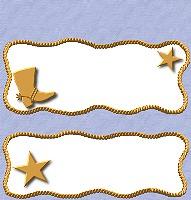 <h3>Denim Cowboy Candy Wrapper </h3>