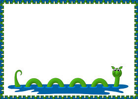 Free Silly Sea Creature Invitation