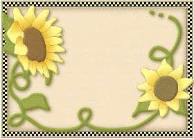 Checkered Sunflower
