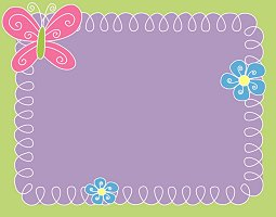 Free Cute Butterfly Invitation
