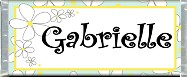 Free Printable Daisies Candy Bar Wrapper