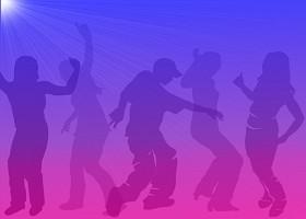 <h3>Teen Dance Scene Invitation </h3>