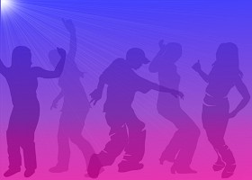 Teen Dance Scene