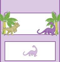 <h3>Dinosaur Candy Wrapper </h3>