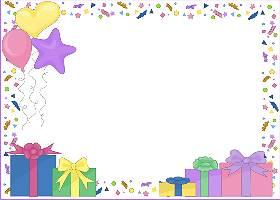 <h3>Pastel Confetti Party Invitation </h3>