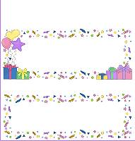<h3>Pastel Confetti Party Candy Wrapper </h3>
