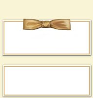 <h3>Gold Bow Candy Wrapper </h3>