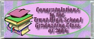 Free Grad Swirl Candy Wrapper
