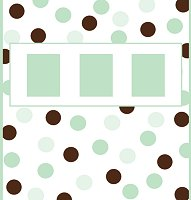 <b>Green &amp; Brown Candy Wrapper </b><br />