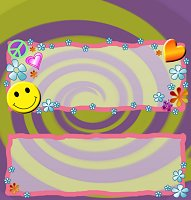 <h3>Retro Groovy Candy Wrapper </h3>