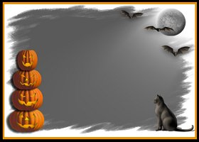 Free Printable Spooky Halloween Card And Invitation