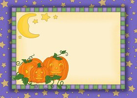 Free Printable Halloween 2 Card And Invitation