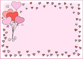 <h3>Floating Hearts Invitation </h3>
