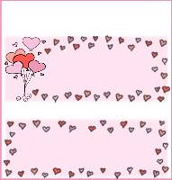 <h3>Floating Hearts Candy Wrapper </h3>